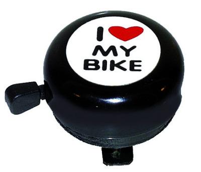 Ringklocka I Love My Bike