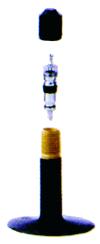 52-1193 24x1.75-2.125, 47/57-507 Bilventil 40mm