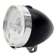 20-0269 Framlampa 3 dioder Svart/Silver Union Inkl. batteri