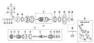 77-8129 Låsmutter SG3C41 axel 168/4,5mm