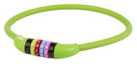 10-1271 Kombinationslås grön siliconhölje 12 x 650mm