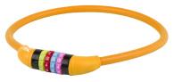 10-1272 Kombinationslås orange siliconhölje 12 x 650mm